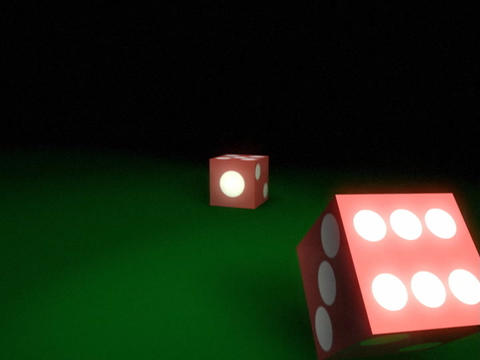 Dice Roll 3 Stock Video Footage