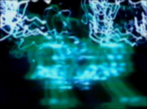 blue light streaks1 Comp 1 Stock Video Footage