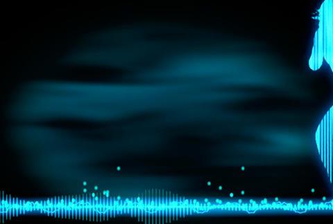 VJ Loops : Waveform Dancers DL 05 Stock Video Footage