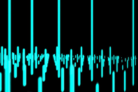 VJ Loops : Equalizer 2 Stock Video Footage