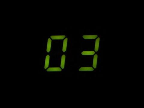 Robotic Countdown Animation