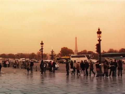 Place de la Concorde Paris, Live Action