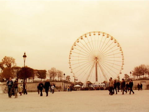 Wonder Wheel Paris Footage