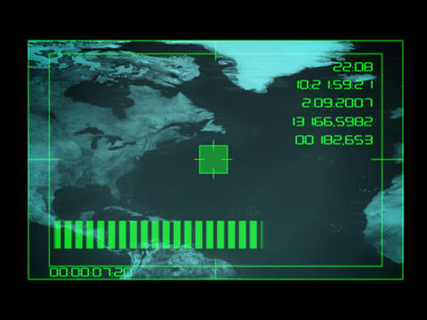Earth Tracking System - USA 2 Animation