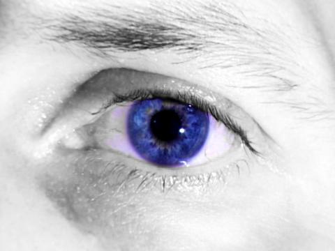 Blue Eye Stock Video Footage