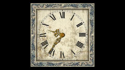 Antique Clock, Stock Animation
