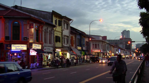 Little India Timelapse Live Action