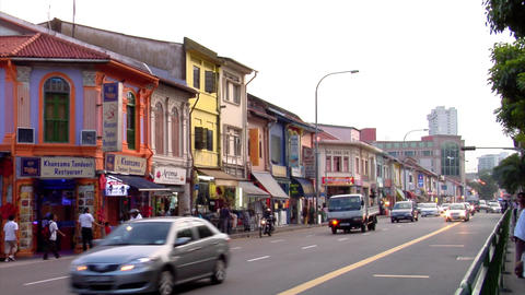 Little India Road Footage