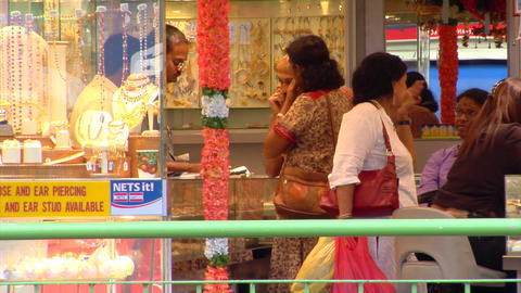 Indian Jewellery Shop Footage