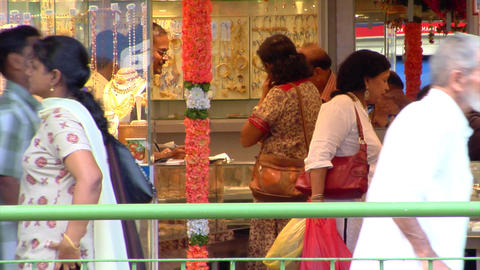 Indian Jewellery Shop Stock Video Footage