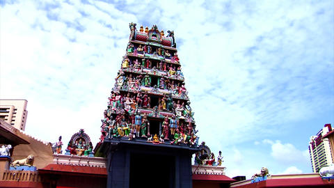 Sri Mariamman Temple Stock Video Footage