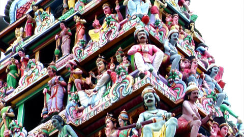 Sri Mariamman Temple Gods Footage