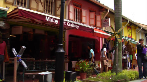 Singapore Kampong Glam Stock Video Footage