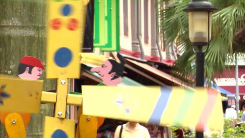 Malay Windmill CU Footage