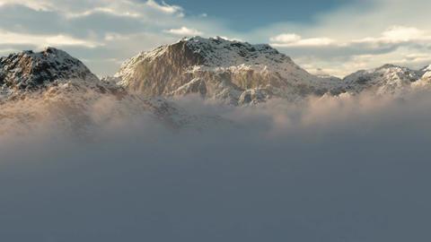 (1054) Snow Mountain Wilderness Storm Footage