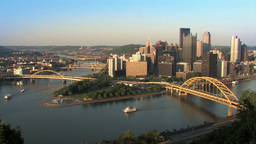 Pittsburgh Skyline 518 Footage