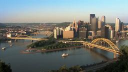 Pittsburgh Skyline 518 Footage