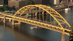 Fort Pitt Bridge 522 Footage