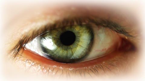 big_eye00 Stock Video Footage