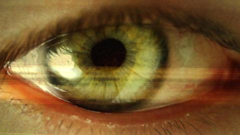 big_eye04 Stock Video Footage