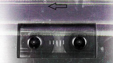 cassette_rewind06 Stock Video Footage