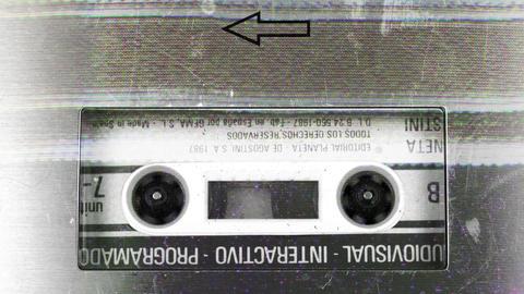 cassette_rewind06 Footage