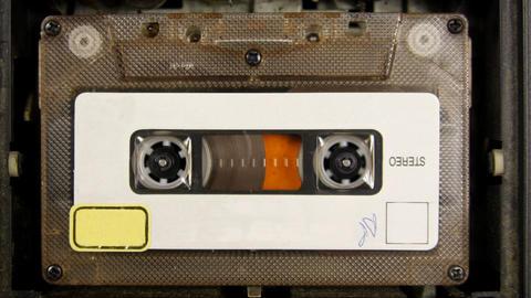cassette_rwd00 Footage