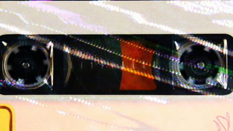 cassette_rwd02 Stock Video Footage