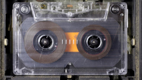 cassette_rwd06 Stock Video Footage