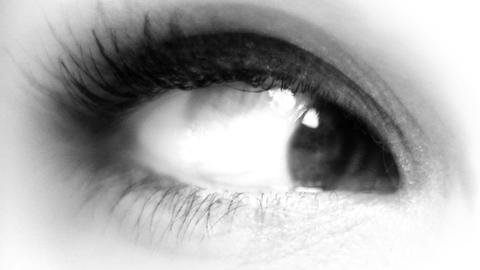 seanna_eye01 Stock Video Footage