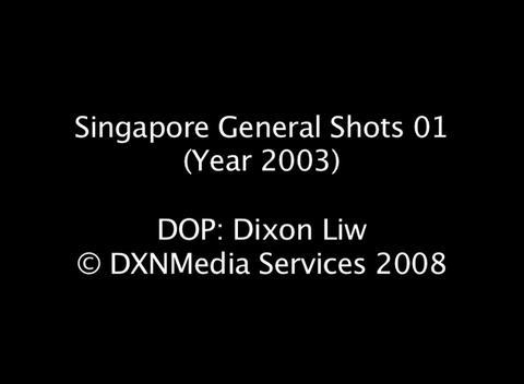 SingGenShots01-2003 Stock Video Footage