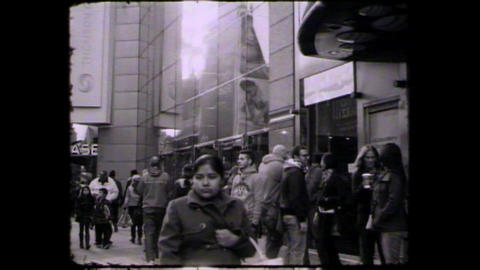 NYC Times square people Footage