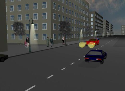 Distant light 3D Animation