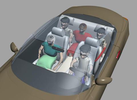 Safety belts Animation