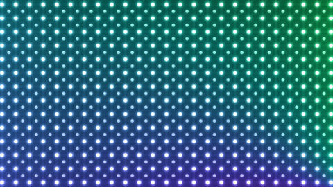 LED Wall 2 K Bb 1 R HD Stock Video Footage