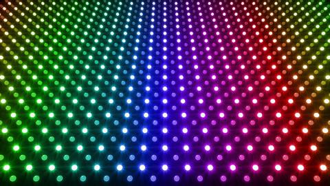 LED Wall 2 K Gb 1 R HD Stock Video Footage
