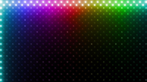 LED Wall 2 Wb Bb 1 BTR HD Stock Video Footage