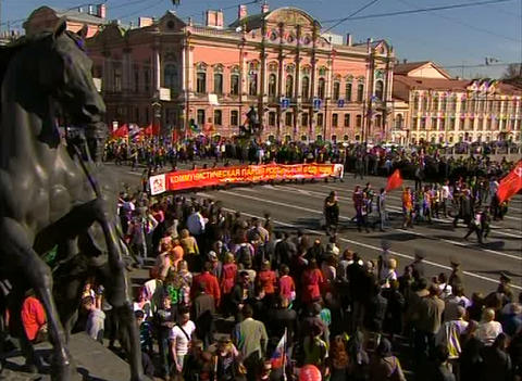 Parade on victory Day Live Action