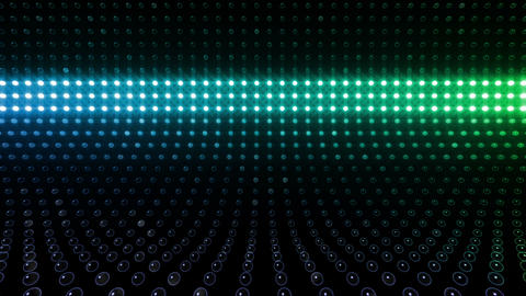LED Wall 2 Wb Eb 1 BTR HD Stock Video Footage