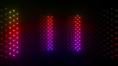LED Wall 2 Wc Cs 2 LRR HD Stock Video Footage