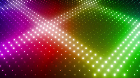 LED Wall 2 Wc Gs 1 Na R HD Stock Video Footage
