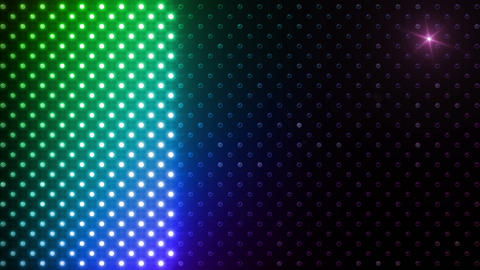 LED Wall 2 Ww Bb 1 LRR HD Stock Video Footage