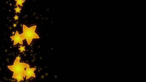 Star background, Loop, with alpha mask for easy... Stock Video Footage