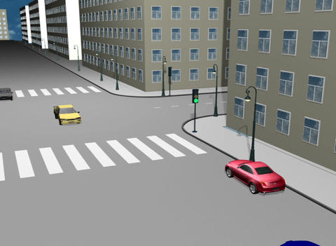Road traffic accidents Animation