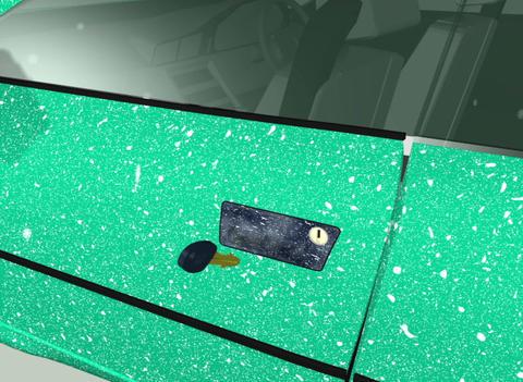 Frozen car castle Animation