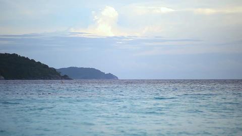 Thailand seascape Footage