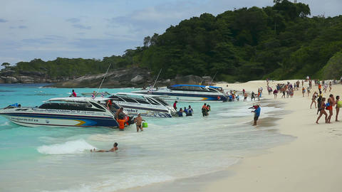Similan beach Footage