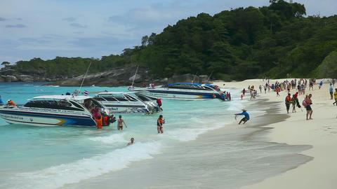 Similan beach Stock Video Footage