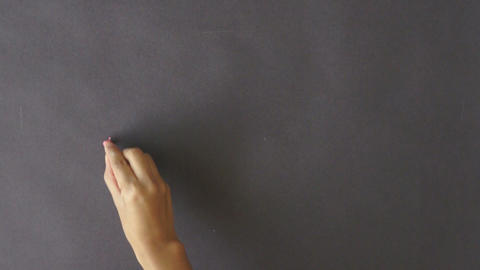 Choices Chalk Drawing Stock Video Footage
