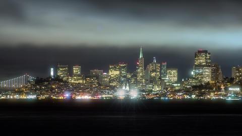 San Francisco Timelapse Footage